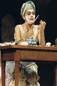 Marianne Bindig as Baba the Turk in The Rake's Progress