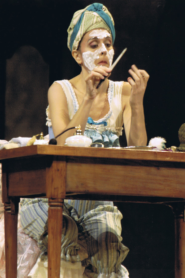 Marianne Bindig as Baba the Turk in The Rake's Progress