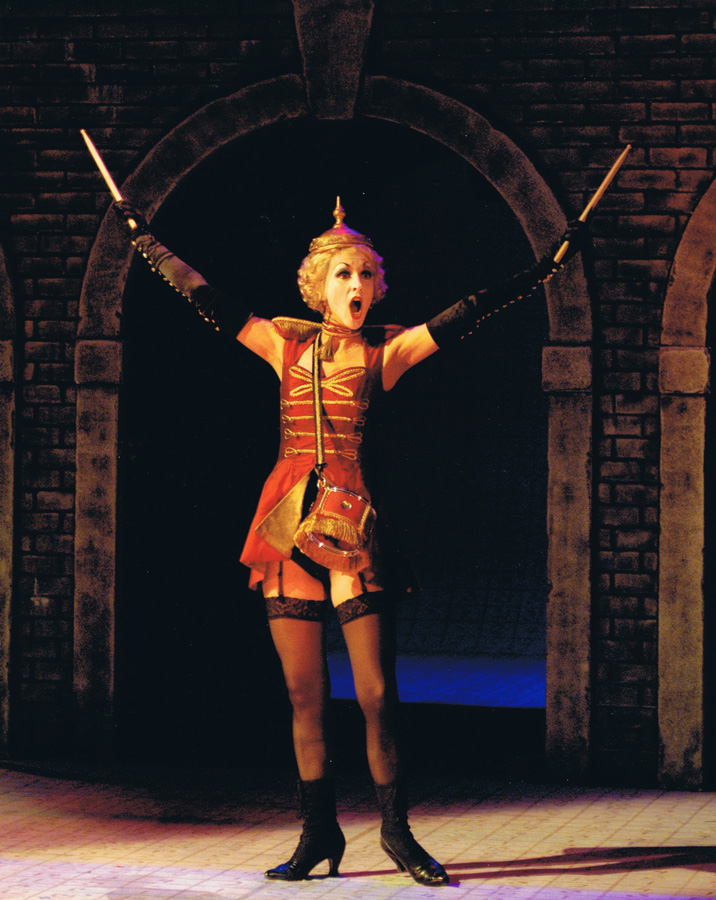 Marianne Bindig as Cherubino in Le Nozze di Figaro