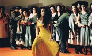 Marianne Bindig as Carmen in Carmen